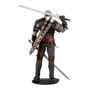 The Witcher III Wild Hunt Geralt of Rivia Action Figure