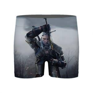 The Witcher III Wild Hunt Geralt of Rivia Men's Underwear