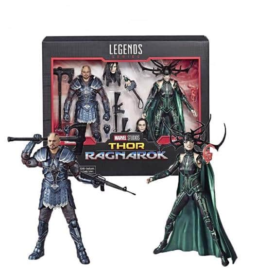 Thor Ragnarok Hela and Skurge Movable Joint Action Figure