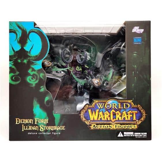 WOW Illidan Stormrage Demon Form Static Toy Figure
