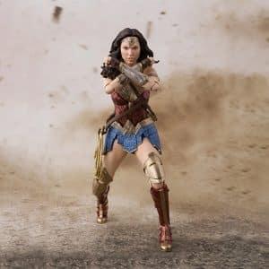 Wonder Woman Battle Armor Movable Joints Action Figure