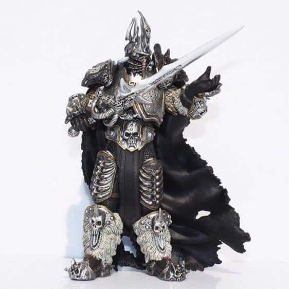 World of Warcraft Arthas Menethil Statue Model Figure