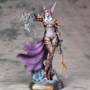 World of Warcraft Cataclysm Sylvanas Windrunner Statue Figure