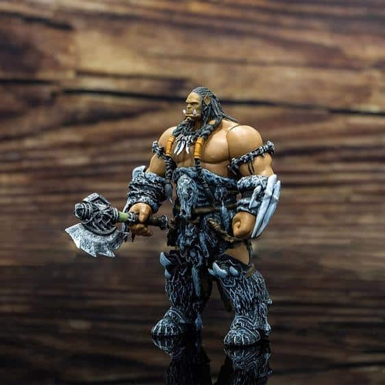 World of Warcraft Durotan Son of Garad Movable Joint Figure