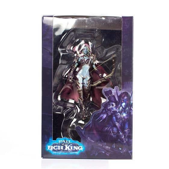 World of Warcraft Sylvanas Windrunner Static Figure Toy