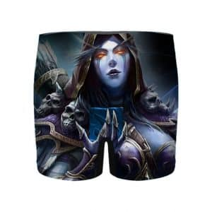 World of Warcraft Sylvannas Windrunner Men's Boxer Shorts