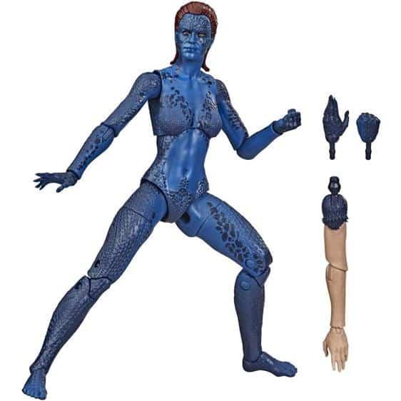 X-Men Mystique Raven Darkholme Movable Joint Toy Figure