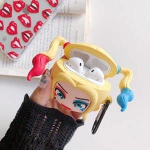 Adorable Suicide Squad Chibi Harley Quinn AirPods Case