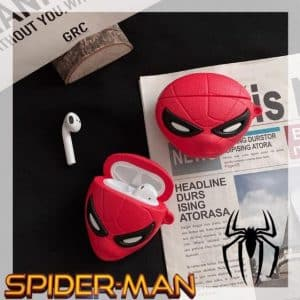 Amazing Spider-Man Red Marvel Silicone AirPods Case