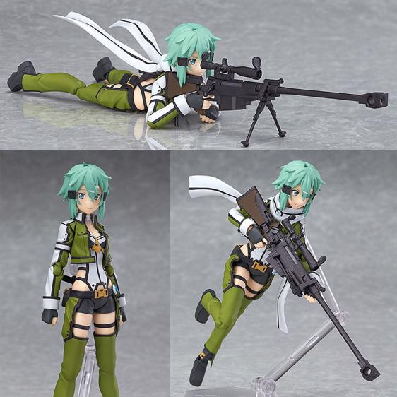 Asada Shino Hecate Sword Art Online Movable Toy Figure