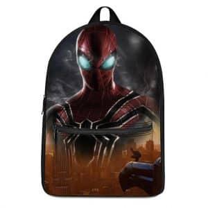 Badass Spider-Man Iron Spider Suit Artwork Backpack Bag