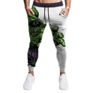 Bruce Banner Livid Hulk Transformation Jogger Pants