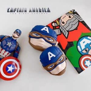 Captain America The First Avenger Cool AirPods Cover