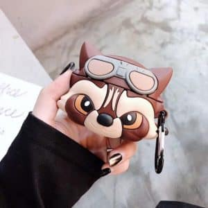 Cute Rocket Raccoon Guardians of the Galaxy AirPods Pro Case