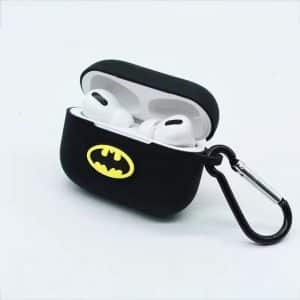 DC Superhero Batman Bat Logo Black AirPods Pro Cover