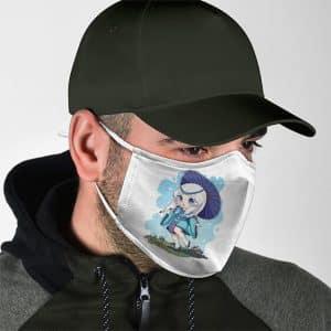 Onmyouji Master Kagura MLBB Chibi Art Filtered Face Mask