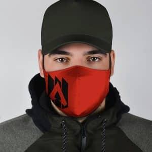 Battle Royal FPS Apex Legends Logo Red Cloth Face Mask
