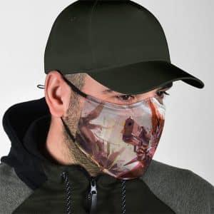 Fearless Primal Breed Biomutant Artwork Filtered Face Mask