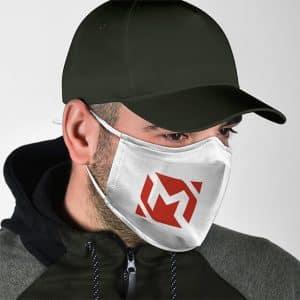 Mobile Legends Sun Cute Chibi Rockstar Skin Cloth Face Mask