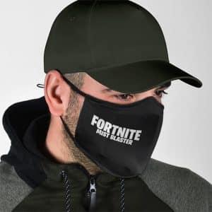 Fortnite Creepy Mist Blaster Artwork Black Cloth Face Mask