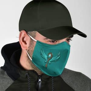 Cool League Of Legends Support Role Icon Face Mask