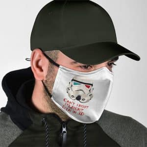 Star Wars Storm Trooper Can't Shoot Straight Face Mask