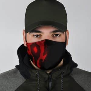 World Of Warcraft The Horde Insignia Cool Cloth Face Mask