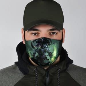 World Of Warcraft Illidan Stormrage Dope Cloth Face Mask