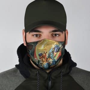 Awesome Warhammer Storm Ground Artwork Face Mask