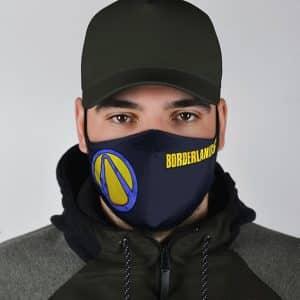Borderlands Awesome Logo Minimalistic Black Face Mask