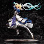 Fate Saber Altria Pendragon with Excalibur Static Figure