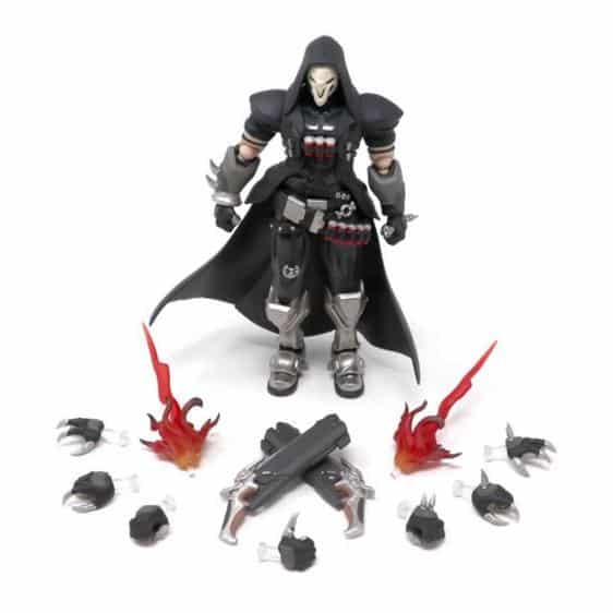 Gabriel Reyes Grim Reaper Overwatch Movable Action Toy