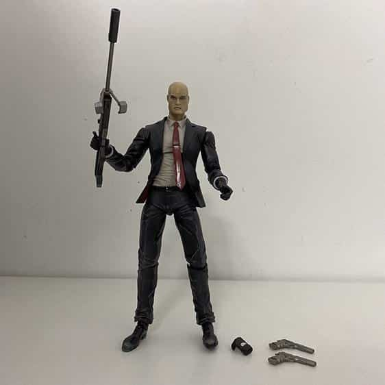 Hitman Absolution Agent 47 Collectible Action Figure