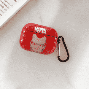 Iron Man Mask Logo Marvel Red AirPods & AirPods Pro Case