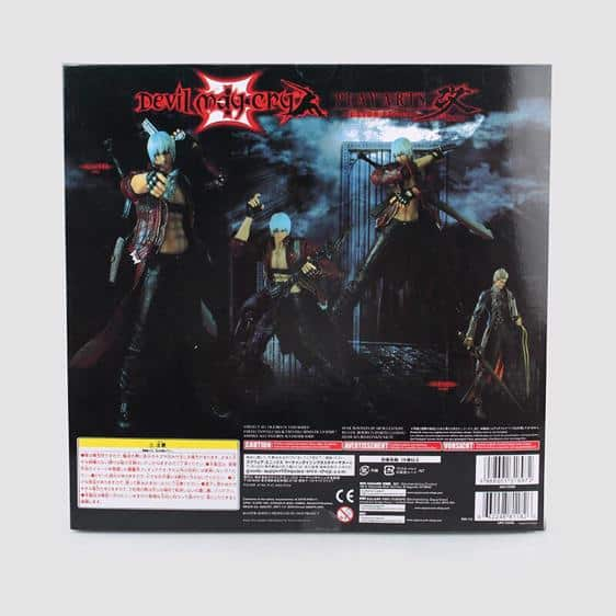 Legendary Devil Hunter Dante Devil May Cry Action Figure