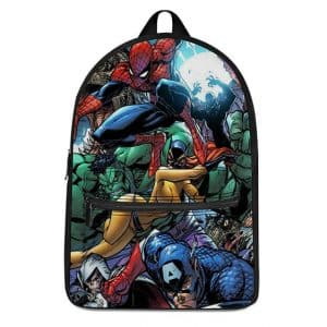 MCU Marvel Comics Superheroes Artwork Cool Backpack