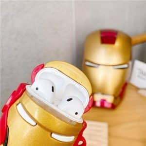 Marvel Avenger Iron Man Red And Gold AirPods Pro Case