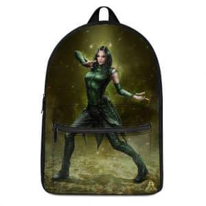 Marvel Comics Beautiful Mantis Battle Pose Knapsack Bag