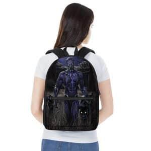 Marvel Comics Black Panther Vibranium Suit Dope Backpack