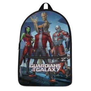 Marvel Comics Guardians of the Galaxy Members Art Backpack