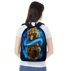Marvel Comics Powerful Infinity Gauntlet Art Backpack