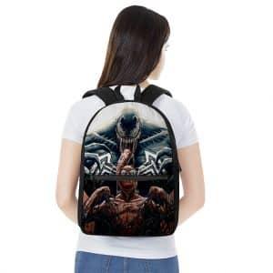 Marvel Comics Spiderman Resisting Venom Badass Backpack Bag