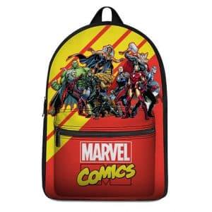 Marvel Comics Superheroes Assemble Cool Backpack Bag