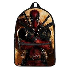 Marvel Deadpool Wade Wilson Explosion Art Dope Backpack