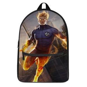 Marvel Fantastic Four Member Human Torch Badass Backpack