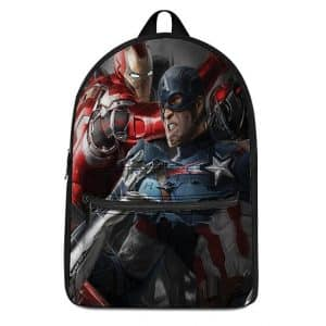 Marvel Iron Man & Captain America Tag Team Dope Knapsack
