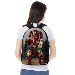 Marvel Iron Man Hulkbuster Suit Unique Backpack Bag
