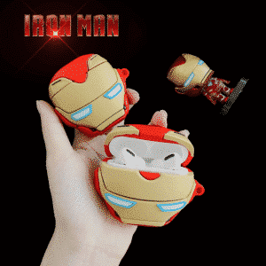 Marvel's Iron Man Silicone Airpods & Airpods Pro Case