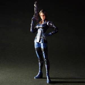 Mass Effect Ashley Williams Gunnery Chief Action Figure Toy