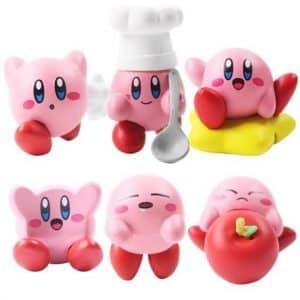 Nintendo's Adorable Kirby Mini Statue Toy Figure Set